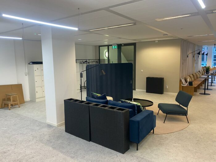 afbouw kantoor